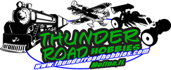 thunder road hobbies logo