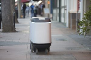 dispatch delivery robot